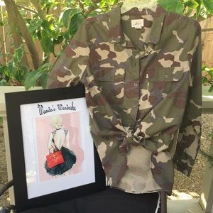 Levi's Camouflage Shirt